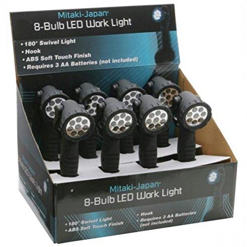 Mitaki-Japan ELWL8 8 Piece LED Work Light