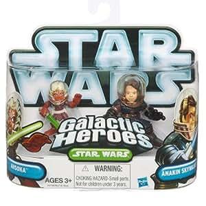 Star Wars Galactic Heroes Anakin Skywalker & Ahsoka Tano 2 Pack