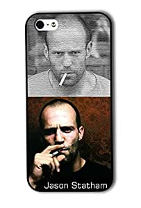 Tomhousomick Custom Design Forever Jason Statham and Smoking Case Cover for iPhone 5 5S 2015 Hot New Style