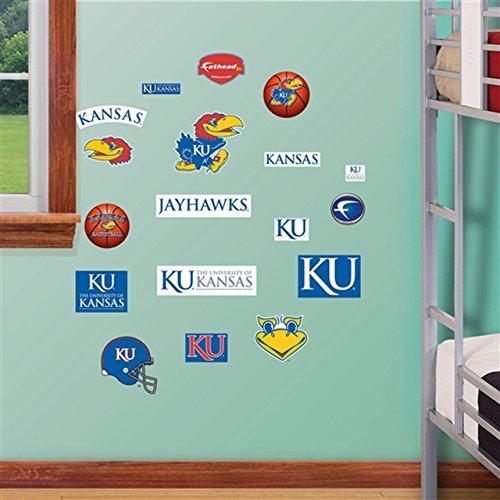 Kansas Jayhawks Team Logo Wall Graphic by Fathead