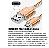 [3-Pack] Micro USB Cord,iBarbe Data sync and Power