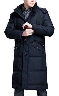 KINDOYO Herbst Winter Mode Herren Mantel Wintermantel