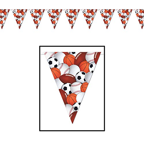 Sports Pennant Banner Party Accessory (Value (Banner Party Accessory)