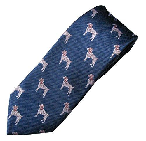 German Shorthaired Pointer Tie (Men's Dog Breed Neck Tie) ()