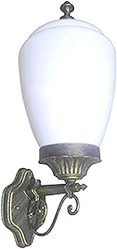 7 inch x 5 inch Golden Black Outdoor Wall Lighting Fixture Exterior Lamp Weather Resistant APLIQ066_V2