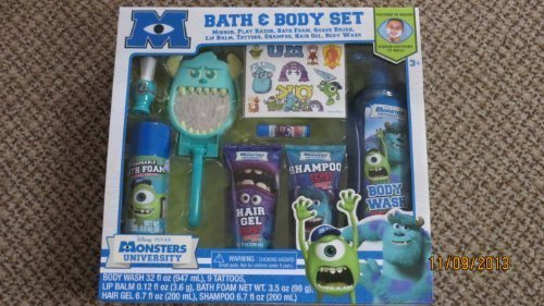 Price comparison product image MONSTERS UNIVERSITY BATH & BODY WASH SET
