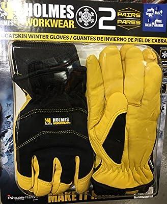 Mike Holmes Workwear Goatskin Winter Gloves - 2 pairs