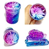 Creazy Non-Toxic Clear Slime Beautiful Color Mixing Cloud Slime Kids Relief Stress Toys (e)
