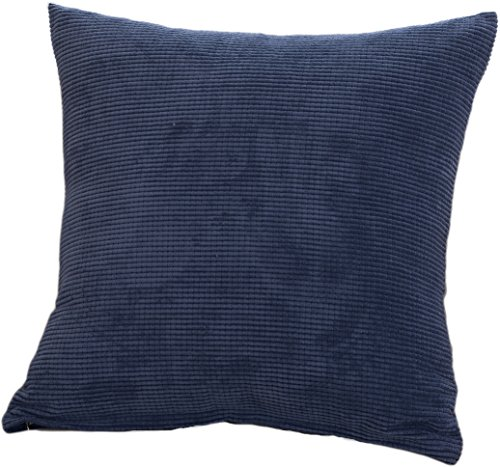 Keynis Throw Pillow Cover Comfortable Soft Corduroy Striped