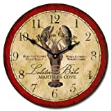 Vintage Lobster Wall Clock, Available in 8 sizes, Most Sizes Ship 2 – 3 days, Whisper Quiet. For Sale