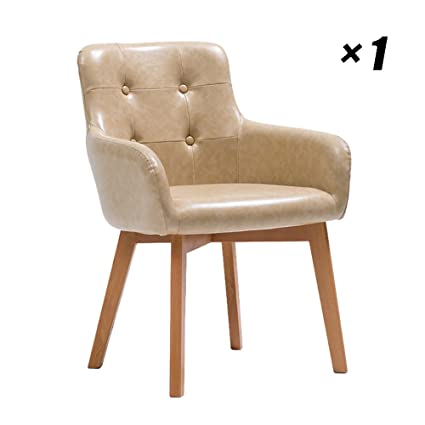 Amazon.com - Office Solid Wood Chairs Simple Hotel Lounge ...