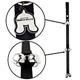 Mighty Paw Tinkle Bells, Premium Quality Dog Doorbells, Housetraining Doggy Door Bells for Potty Training, Includes Free Wall Hook