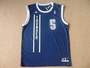 Oklahoma City Thunder de la NBA baloncesto Jersey – Perkins # 5 – Mens grande –