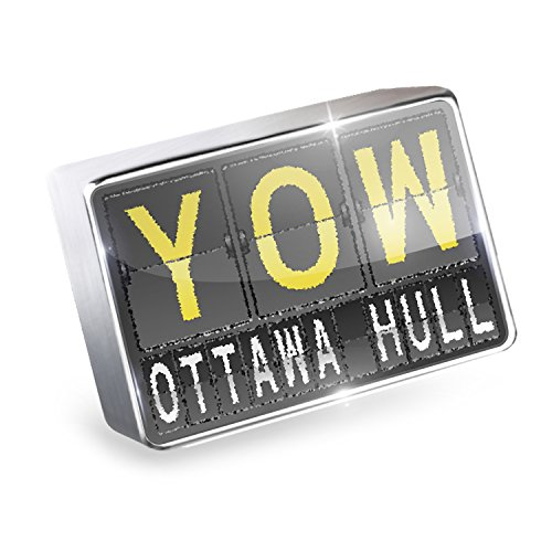 Floating Charm YOW Airport Code for Ottawa - Hull Fits Glass Lockets, - Shops Airport Ottawa