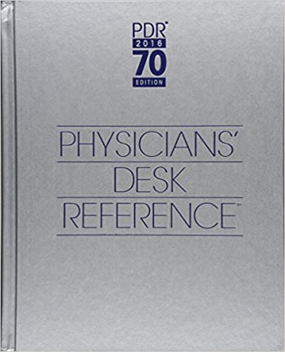 2016 Physiciansu0027 Desk Reference, 70th Edition 70th Edition