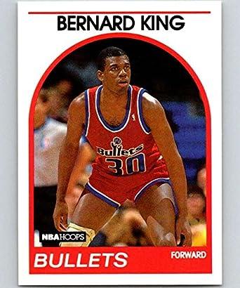18a4afdb12b6 Amazon.com  1989-90 Hoops  240 Bernard King Bullets NBA Basketball ...
