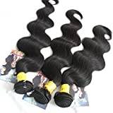 ALI HOT Hair Best Quality Brazilian Virgin Hair Extension Body Wave, Mixed Length 8inch 10inch 12inch 3pcs 300g per Lot,Fast Shipping