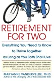 img - for Retirement for Two by Maryanne Vandervelde (2005-11-29) book / textbook / text book