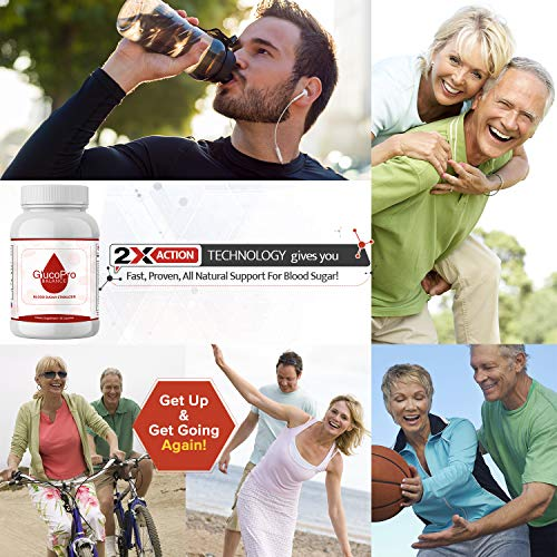 GlucoPro Balance Blood Sugar Support Supplement - 20 Herbs and Multivitamin for Glucose, Insulin and Cholesterol Control. Supports Immune Health. Vitamins, Biotin, Cinnamon, Natural Herbs and Minerals by GlucoPro Balance (Image #4)