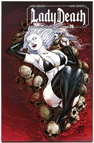 LADY DEATH Boundless #26, VF, Mike Wolfer, Sultry cvr, Femme Fatale, 2013