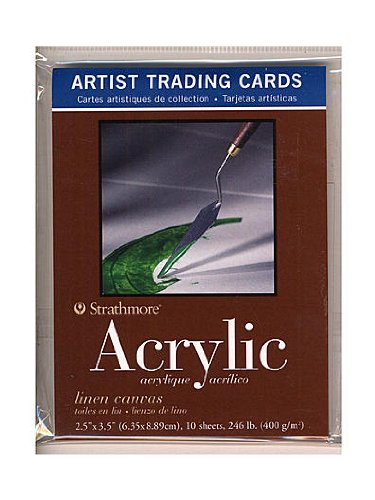 Strathmore Artist Trading Cards 400 Series Acrylic (6 packs of 10 cards)