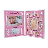Valdler Durable Grandma¡¯s Baby Picture Frame Photo Frame for Desktop Display (Pink)