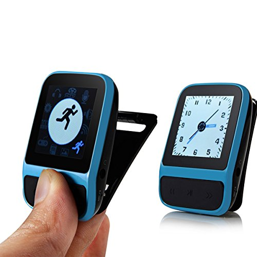 SailFar 8GB Mini Sports HIFI MP3 Player with Built-in ...