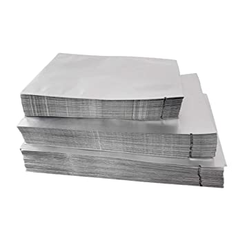 BESTONZON mylar bolsas planas bolsa de embalaje de papel de ...