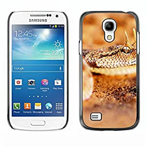Hot Style Cell Phone PC Hard Case Cover // M00100529 animals horned desert viper // Samsung Galaxy S4 Mini i9190