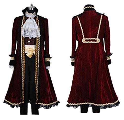 Cosnew Halloween Anime Party Prussia Cosplay Costume-Made -