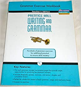 prentice hall writing and grammar grade 10 answer key pdf