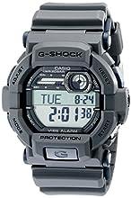 Casio G-Shock Quartz Watch with Resin Strap, Grey, 18 (Model: GD350-8)