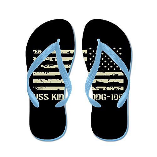 Cafepress Uss Kidd - Tongs, Sandales Rigolotes, Sandales De Plage Bleu  Caraïbes. chaussures ...