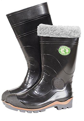 W.K. Tex. WI de botas de seguridad Stefano S5ProfiLine, 1pieza, 47, Negro, 812449047