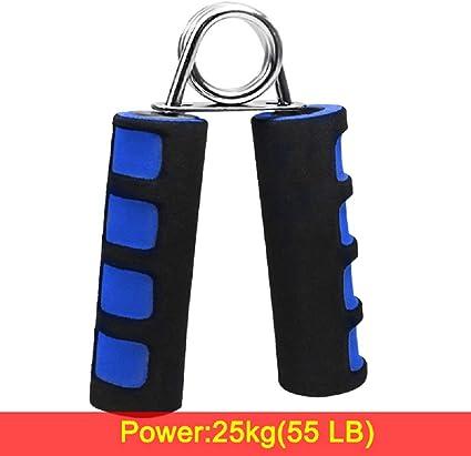 30Kg Hand Finger Wrist Grip Forearm Strength Exerciser Trainer Ring 20
