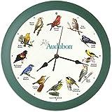 Audubon Singing Bird Clock 13 Inch