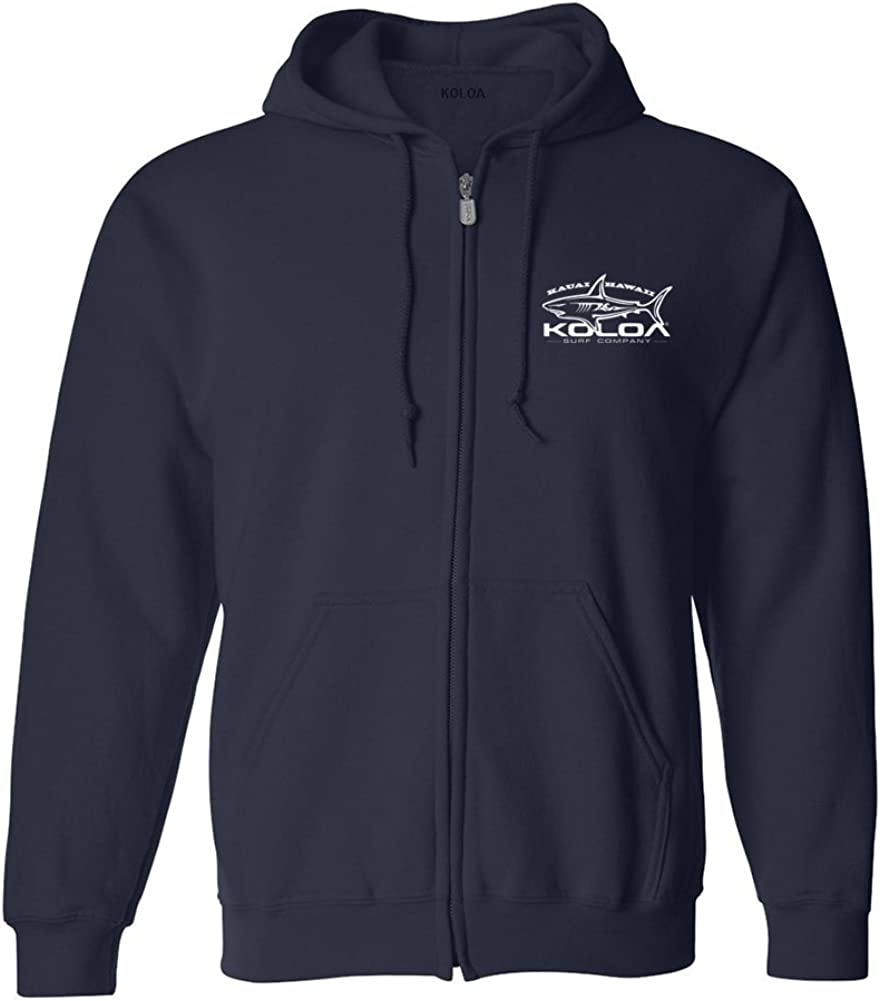 Koloa Surf Graphic Logo Zipper Hoodies - Hooded Sweatshirts. in Sizes S-5XL