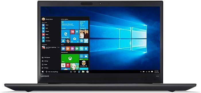 "Lenovo ThinkPad T570 Windows 7 Pro - i7-6600U, 8GB RAM, 256GB SSD, 15.6"" IPS FHD (1920x1080) Matte Display, Fingerprint Reader, Black Color"