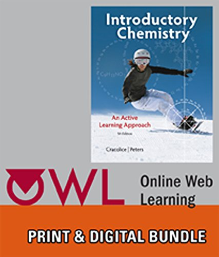 Bundle: Cengage Advantage Books: Introductory Chemistry: An Active Learning Approach, 5th + OWL 24-Months Printed Access Card