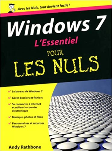 Téléchargement L'Essentiel Windows 7 pour les nuls epub pdf