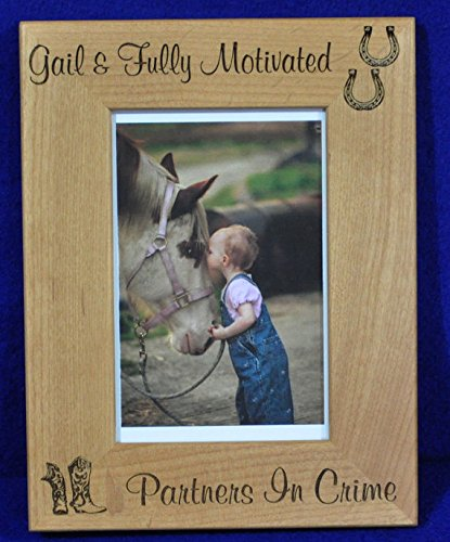 - Horse Picture Frame ~ Horse ~ Custom Picture Frame ~ Picture Frame ~ Horse Lover Gift ~ Pet Frame ~ Best Friend Gift ~ Frames ~ Western Frame ~ Pets