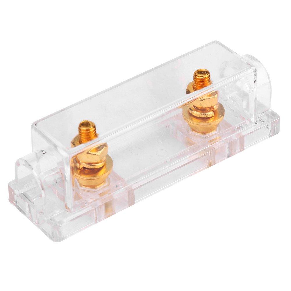 ANL Fuse Holder, Car Video Audio Gauge ANL Fuse Holder Distribution Block Fusebox