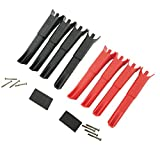 Upgraded Landing Gears Landing Skids Legs for MJX B2 B2W B2C MJX Bugs 2 Drone Replacement RC Quadcopter Spare Parts Set (Red-Black)