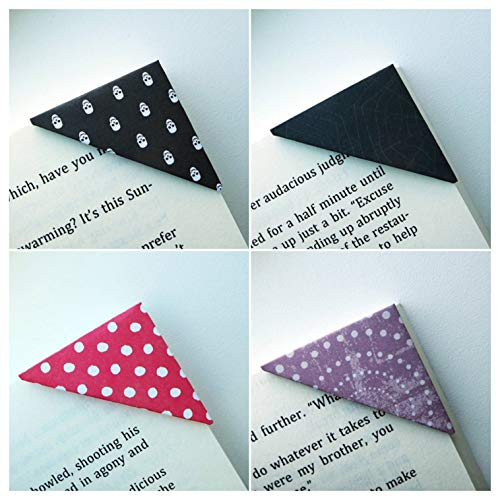 Bookmarks - 10 Unique Corner Bookmarks - Halloween Scare Collection]()
