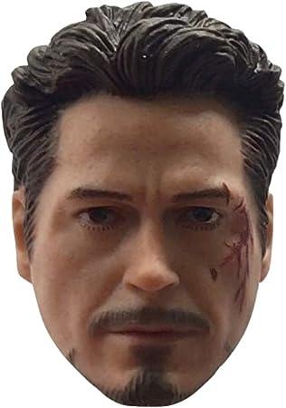 Manipple MP03A 1//12 scale head sculpt normal version