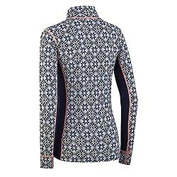 Kari Traa Women's Rose Base Layer Top - Half Zip Wool Thermal Shirt