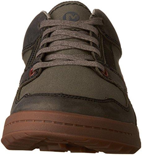 Merrell Hombres Berner Shift Lace Moda Sneaker Granite