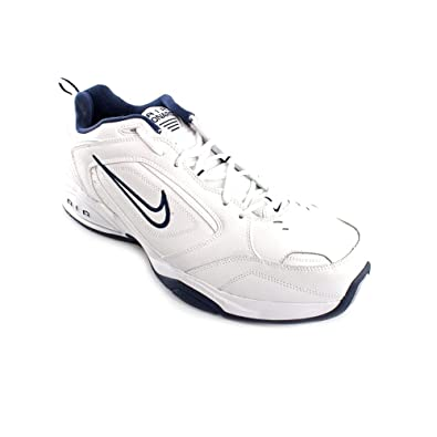 4a69f50712b801 NIKE Air Monarch III Mens White X Wide Running Shoes Size  Amazon.co.uk   Shoes   Bags