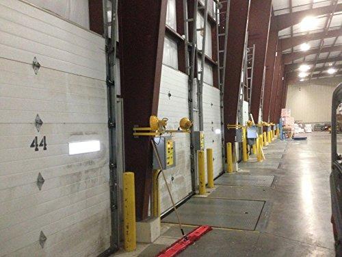 Garage Door Hinge Spring Loaded Self Sealing Energy Saver 4 Panel Commercial MFG# C4416-40 by Green Hinge System (Image #7)
