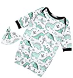 ELOVELY Newborn Baby Cartoon Dinosaur Sleep Gown